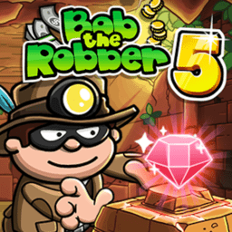 神偷鲍勃5(Bob The Robber 5: Temple Adventure by Kizi games)