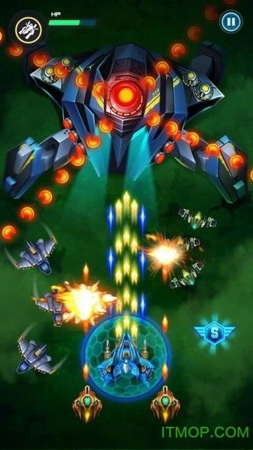 无限射击银河攻击破解版最新版(Infinity Shooting Galaxy Attack) v1.4.2 安卓版 0