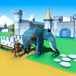 城堡建筑模拟器游戏