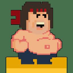 抡大锤的胖子