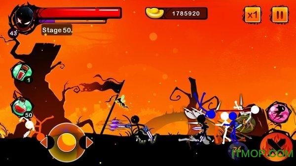 火柴人游戏忍者战士内购龙8国际娱乐唯一官方网站 v1.8 安卓无限元宝版 1
