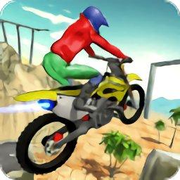 山地摩托骑士特技(Moto Rider Hill Stunts)
