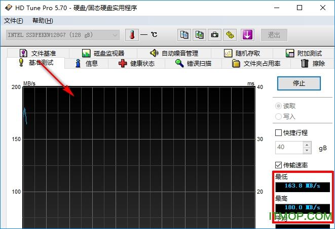 hd tune pro 硬盘检测工具