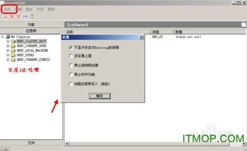 冰刃软件(IceSword)的使用方法(详细图解)
