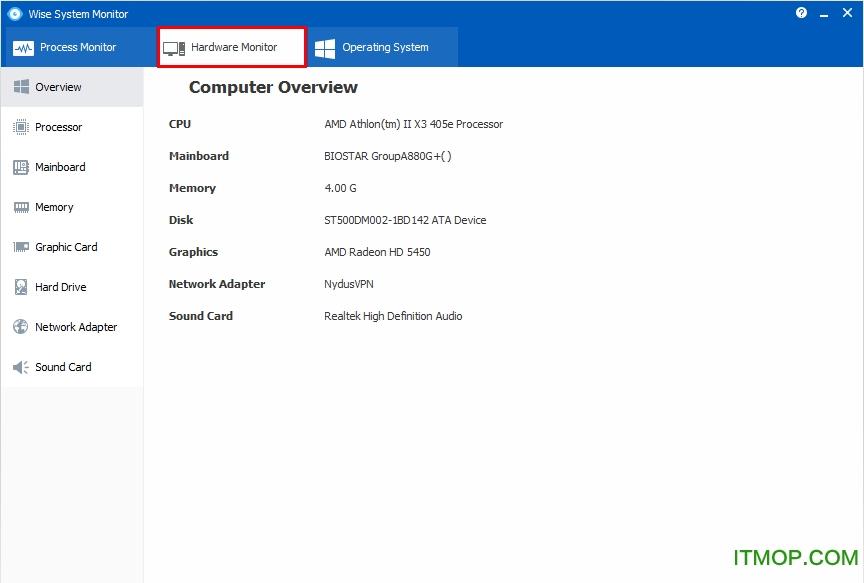 Wise System Monitor(系统监视软件) v1.44 专业版 0