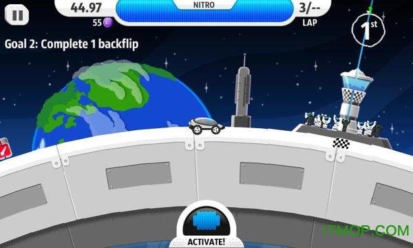 月球狂飙龙8国际娱乐唯一官方网站(Lunar Racer) v1.6 安卓版 0