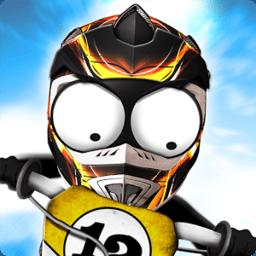火柴人下坡越野摩托车(Stickman Downhill Motocross)