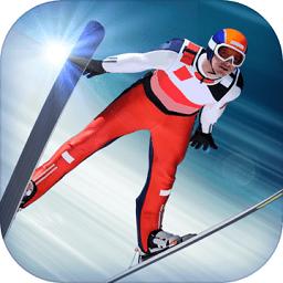 跳�_滑雪模�M