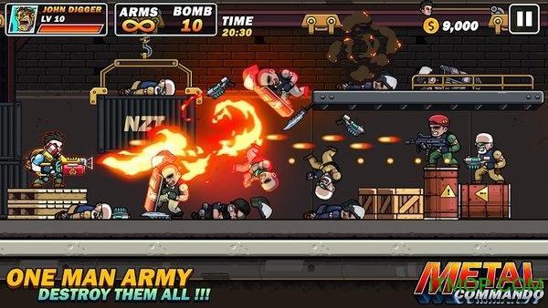 金属雇佣兵手游(Metal Mercenary 2D Platform Action Shooter) v53 安卓版 3