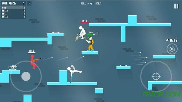 火柴人战斗在线射击(Stickman Battles: Online Shooter) v1.0 安卓版 0