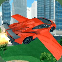 飞行赛车模拟游戏(Race Car Flying 3D)