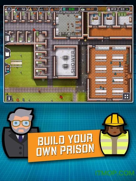 监狱建筑师中文版ipad(Prison Architect) v2.0.8 苹果汉化版2