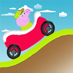 小猪佩奇爬坡赛中文版(Kids Happy Pig)