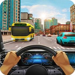 竞赛车驾驶模拟器游戏内购破解版(城市驾驶测试3D)