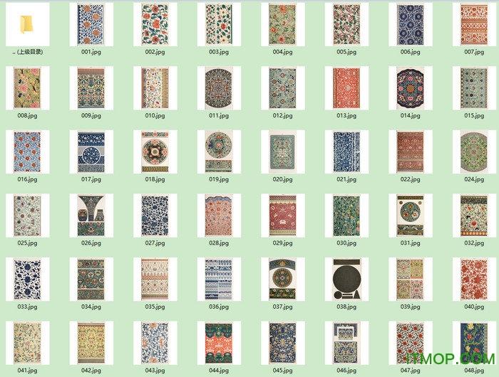 中国传统纹样图案大全 pdf  0