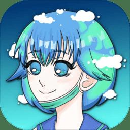 地球模拟器游戏(Earth Chan Idle Simulator)