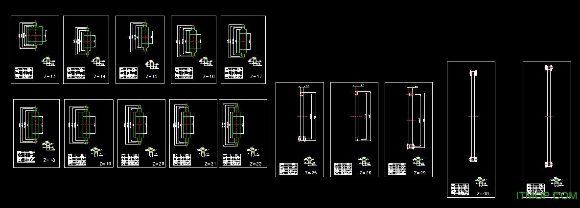 高清链轮autoCAD动画标准免费绘制版打印正弦曲线的图纸v高清图片