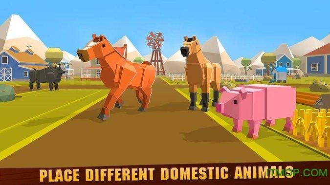 宠物动物农场建筑工艺(Pet Animal Farm Building Craft) v1.0.0 安卓中文版 1