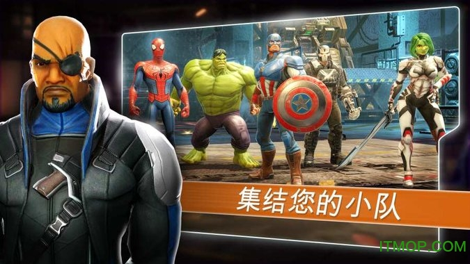 漫威神威�痍�破解版(Marvel Strike Force) v3.4.0 安卓�荣�修改版 2