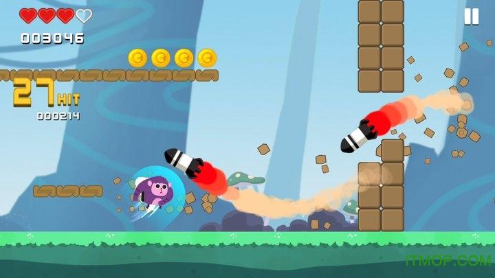 暴走兔子无限金币版(Dash Crashers) v1.0.7 安卓内购破解版 1