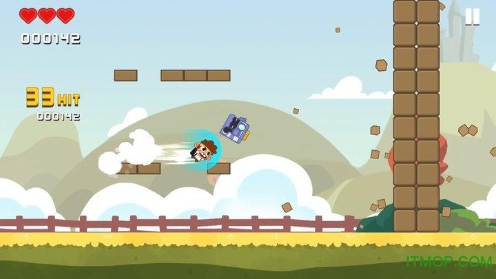 暴走兔子无限金币版(Dash Crashers) v1.0.7 安卓内购破解版 2