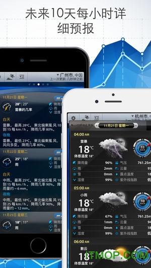 weather m8中文版 v1.3.6 安卓版2