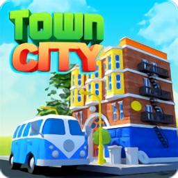 城市建筑大亨无限绿钞金币版(Town City)