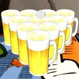 啤酒乒乓球游戏