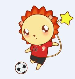 小狮子leo世界杯QQ微信表情包