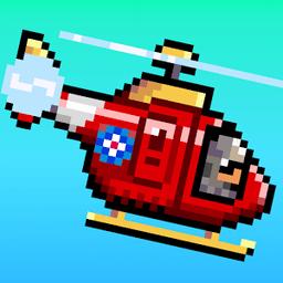 直升�C救援