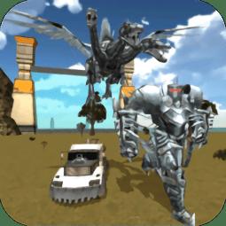 恐龙机器人英雄无限金币版