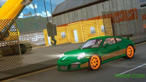 赛车驾驶模拟器游戏