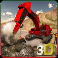 重型挖掘起重机3D手机版