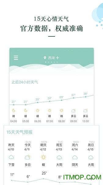 心晴天气 v1.1.0 安卓版3