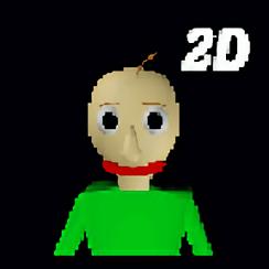 巴迪的基础教育2d手机版(Baldis Basics 2D)