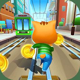 地铁猫跑酷无敌版(Subway Cat Rush)
