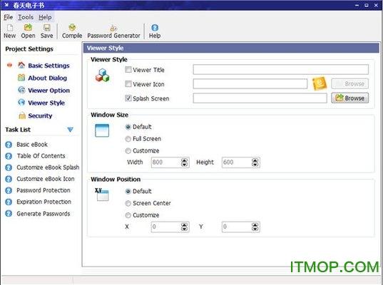 春天电子书EbookMaker v2.1 绿色版 0