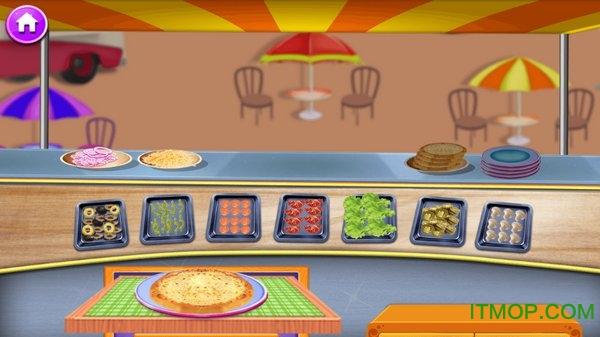 快餐卡车公园烹饪游戏