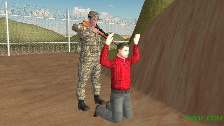 军用卡车边境巡逻下载
