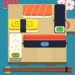 寿司华容道无广告单机版(Push Sushi)