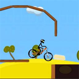 自行车攀爬赛游戏