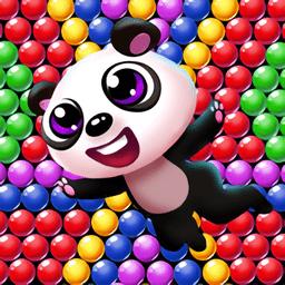 熊猫泡泡粉碎