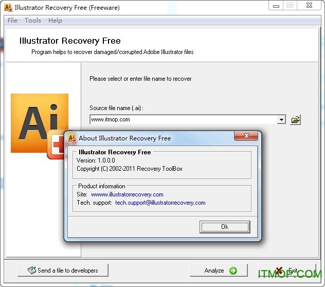 .ai文件损坏修复软件