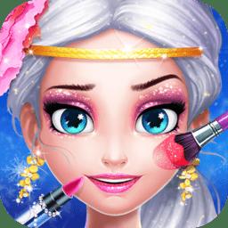 冰雪皇后梦幻化妆(Ice Queen Makeup Fever)