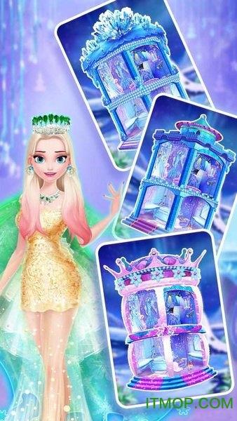 冰雪皇后梦幻化妆游戏