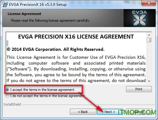 EVGA Precision X16