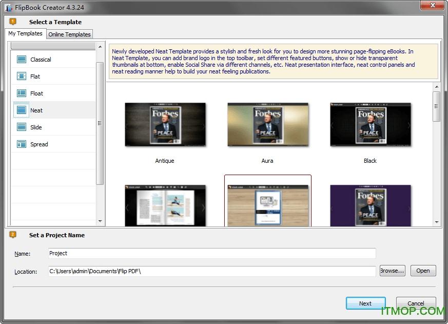 FlipBook Creator(翻转图书制作软件) v4.3.24.5 正式版 0