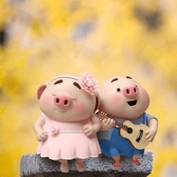 2019猪年头像可爱卡通图片大全