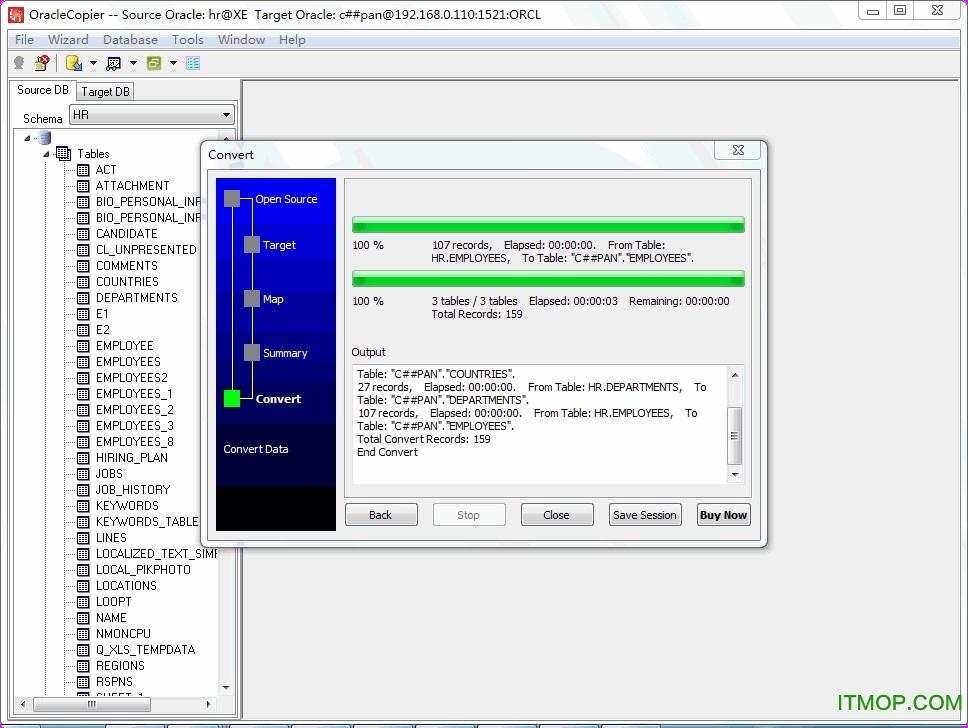 OracleCopier(oracle导入导出数据库) v1.7 免费版 0