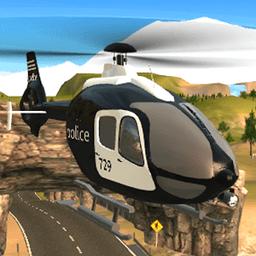警车飞行模拟